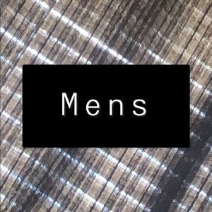 Men's Items Below